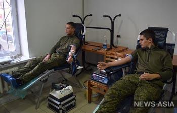 Российские военнослужащие станут донорами крови в Киргизии