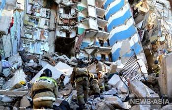 Выживших нет - в Магнитогорске прекращены спасательные работы на месте обрушения десятиэтажки