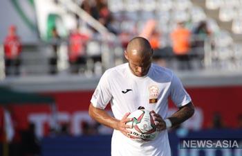 Сборная Кыргызстана проиграла дебютный матч на Кубке Азии-2019