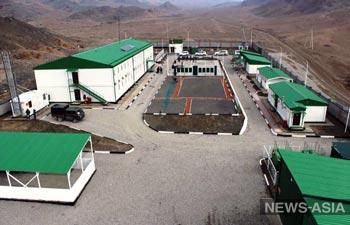 У Кыргызстана появились новые пограничные комплексы на границе с Таджикистаном