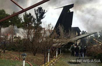 Самолет из Кыргызстана разбился в Иране