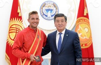 Футболисты Кыргызстана получили госнаграды за исторический дебют на Кубке Азии-2019