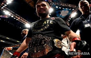 Чемпиона UFC  Хабиба Нурмагомедова отстранили от боев на 9 месяцев