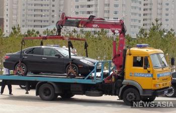 Президент едет. Город в Туркменистане освобождают от машин темного цвета