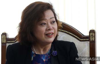 Ду Дэвэнь возглавила дипмиссию Китая в Кыргызстане