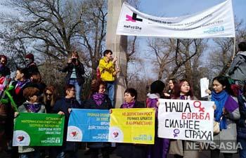 Организаторы мирного марша 8 марта в Бишкеке просят у правительства и правоохранителей защиты