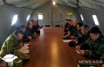 Кыргызстан  эвакуировал из зоны конфликта в приграничье с Таджикистаном женщин и детей