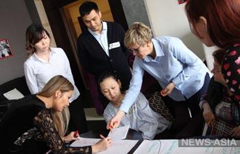 В Бишкеке успешно завершился курс HR-школы Елены Машуковой