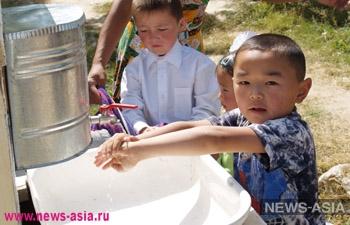 Россия продолжает обеспечивать обедами школьников Кыргызстана