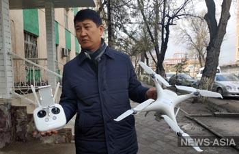 В Бишкеке за загрязнением воздуха и незаконными парковками следят дроны и пылемеры