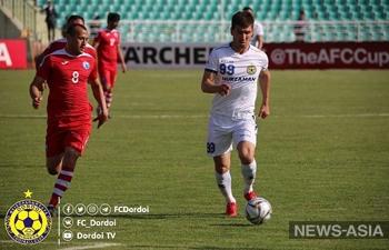 Кыргызстан проиграл Таджикистану в матче группового этапа Кубка АФК-2019