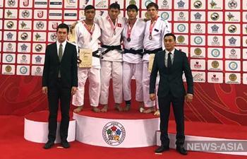 Дзюдоисты Кыргызстана завоевали 8 медалей на Кубке Азии