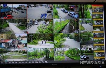 В 6 микрорайоне Бишкека установлены 72 видеокамеры