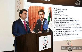 Рустам Эмомали возглавил футбольную ассоциацию Центральной Азии