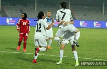 Футболистки Кыргызстана обыграли команду ОАЭ на турнире в Бангладеш