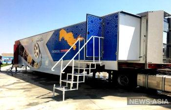 Кинотеатр на колесах появился в Узбекистане