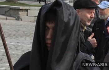 По улицам Казахстана прогулялись «зомби»