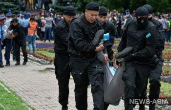 Во время акций протеста в Казахстане в день выборов задержали более 500 человек
