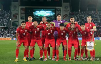 Сборная Кыргызстана по футболу сыграет против Палестины без Люкса и Кичина