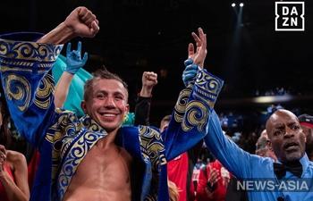 Казахстанский боксер Геннадий Головкин нокаутировал ранее непобежденного Стива Роллса