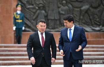 Глава Монголии с официальным визитом прибыл в Кыргызстан