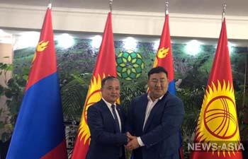 Президент Монголии пригласил дзюдоистов Кыргызстана на совместные сборы
