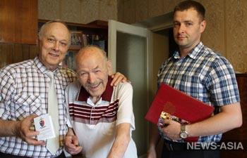 Ветерану уголовного розыска Петру Бабанину исполнилось 95 лет