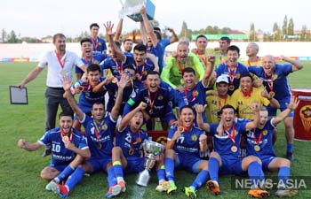 Футбольный клуб «Дордой» стал обладателем Суперкубка Кыргызстана