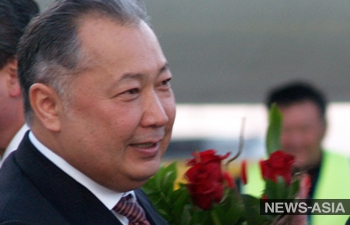 Телеканал Кыргызстана поздравил с юбилеем беглого экс-президента  Бакиева