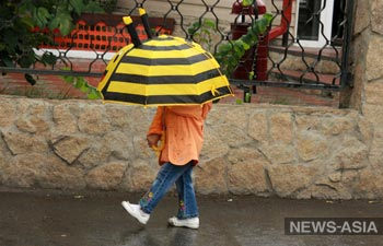 В Кыргызстане ожидаются дожди и грозы, возможен снег