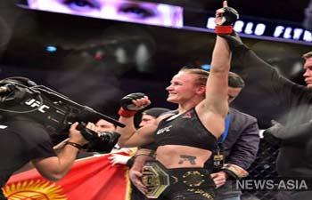 Валентина Шевченко успешно защитила титул и побила рекорд UFC