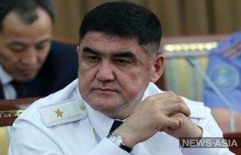 Замминистра МВД КР Курсана Асанова уволили «за утерю доверия»