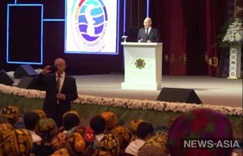 В Туркменистане провели самую масштабную в мире лекцию по экологии