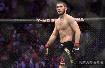 Хабиб Нурмагомедов: «Постараюсь сделать все, чтобы пояс UFC остался в России»
