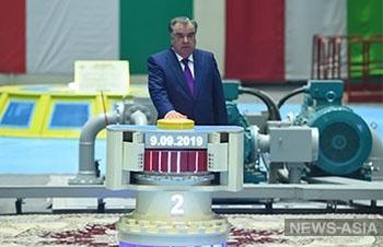 Второй агрегат Рогунской ГЭС запущен в Таджикистане