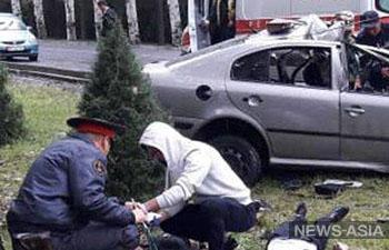 В ДТП на правительственной трассе Бишкека скончались 4 человека