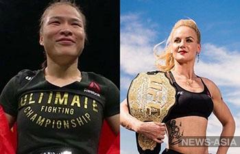 Новоиспеченная чемпионка UFC из Китая бросила вызов Валентине Шевченко