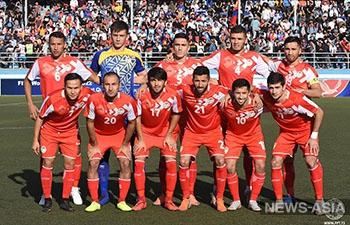 Футболисты Таджикистана одержали вторую победу в отборе на Чемпионат мира 2022