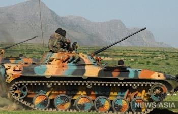 Обнаружена военная техника близ узбекско-кыргызской границы