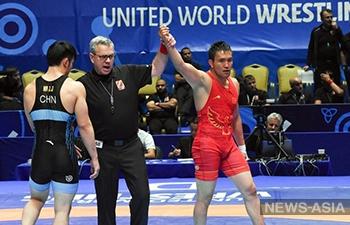 Борец из Кыргызстана завоевал лицензию на летнюю Олимпиаду-2020