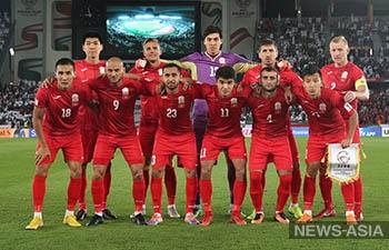Футболисты Кыргызстана настроены на победу в матче квалификации ЧМ-2022