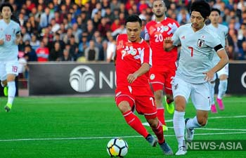 Таджикистан крупно проиграл Японии в матче квалификации ЧМ 2022