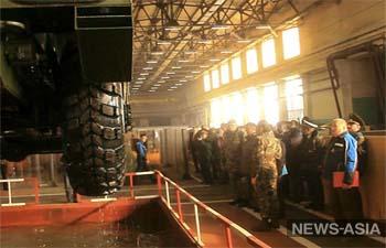 Кыргызстан ознакомился с образцами новой военной техники России