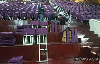 Кыргызстанцы раскритиковали новые «элитные» кресла во Дворце спорта