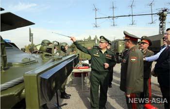 Россия подарила Таджикистану военную технику и вооружение на миллионы долларов