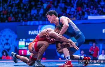 Борцы Кыргызстана завоевали 3 медали на чемпионате мира в Венгрии