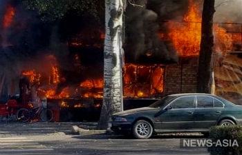 Расследование взрыва в кафе в центре Бишкека взял под контроль премьер-министр Кыргызстана