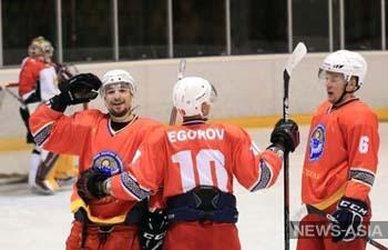 Хоккеисты Кыргызстана успешно дебютировали в квалификации на Олимпиаду - 2022