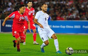 Таджикистан и Кыргызстан сыграют важнейший матч квалификации ЧМ-2022