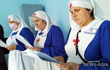 В Кыргызстане православные начали служение в больницах